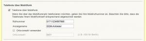 FritzBox UMTS Telefonie