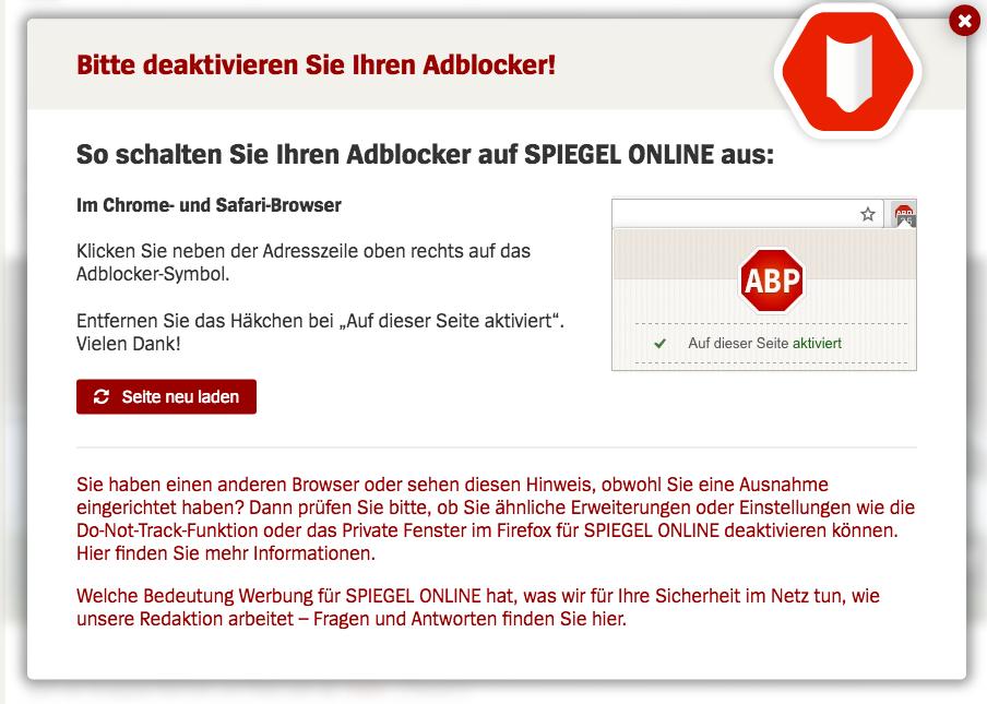 AdBlock: Werbung von Seiten entfernen und nervende Hinweisfenster ...
